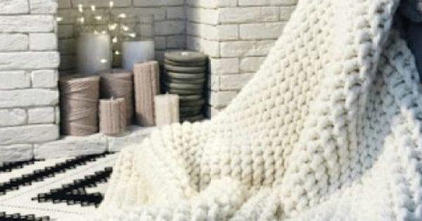 Δείτε πώς θα πλέξετε αυτή την κουβέρτα μέσα σε 1 μέρα [video]