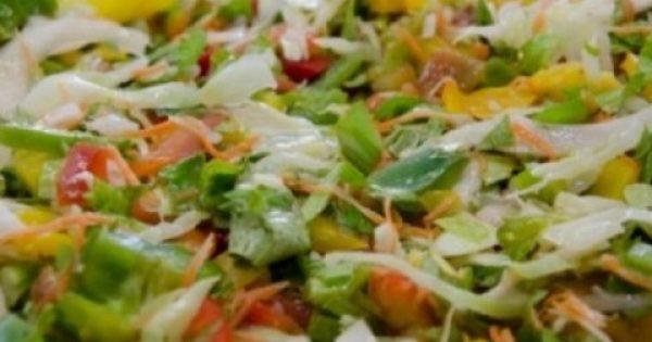 Η θαυματουργή σαλάτα που σε αδυνατίζει και κάνει καλό στην υγεία μας!