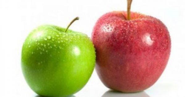Τι μπορεί να αφαιρέσει τα φυτοφάρμακα από τη φλούδα των μήλων