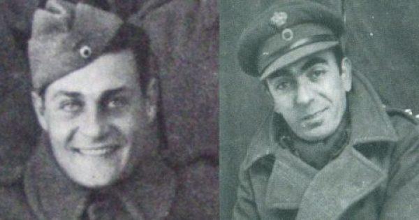 O Κωνσταντάρας και Παπαγιαννόπουλος στην πρώτη γραμμή του πολέμου το '40