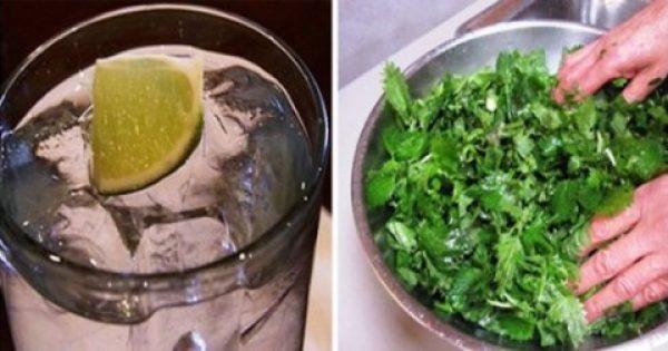 Καθαρίστε το σώμα σας από τη νικοτίνη χρησιμοποιώντας μόνο 5 συστατικά!
