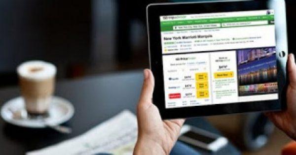 Μόλις το 17% των ταξιδιών οργανώνονται μέσω Διαδικτύου