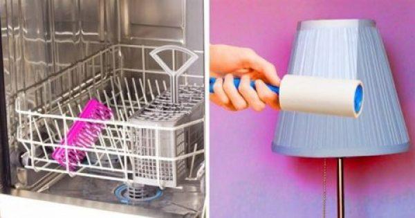 10 συνήθειες των ανθρώπων που το σπίτι τους είναι πάντα καθαρό