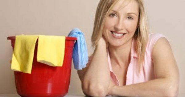 6 απλά βήματα για να διατηρείτε το σπίτι σας καθαρό