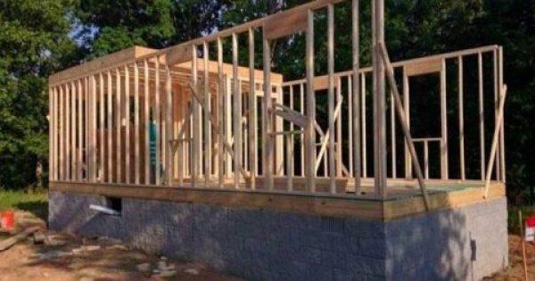 Δεν είχε χρήματα να αγοράσει σπίτι και αποφάσισε να το φτιάξει μόνος του! – Δείτε το αποτέλεσμα…