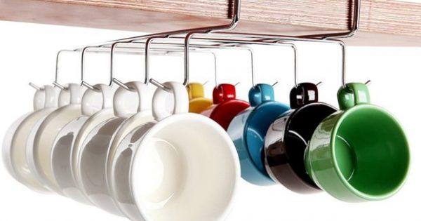 Είστε Λάτρεις του Καφέ και του Τσαγιού; Να 10 Ιδέες για να Αποθηκεύσετε τις Κούπες σας
