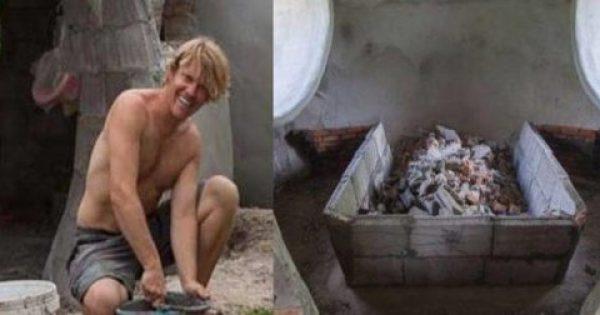 Μέσα σε 6 εβδομάδες και μόνο με 9.000€ έφτιαξε το σπίτι των ονείρων του. Δείτε το Εσωτερικό του