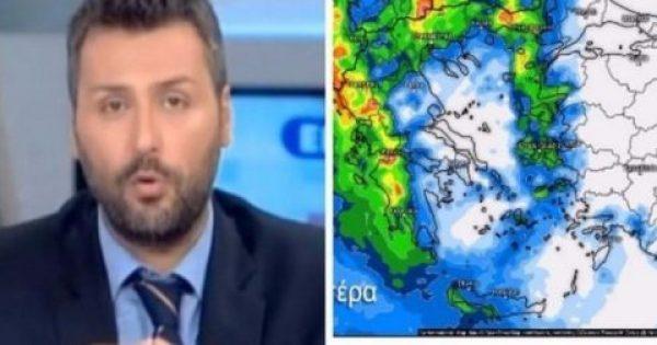 Γιάννης Καλλιάνος πρόβλεψη για τα νέα επικίνδυνα καιρικά φαινόμενα: «Μην ξεγελιέστε, οι καταιγίδες θα…»