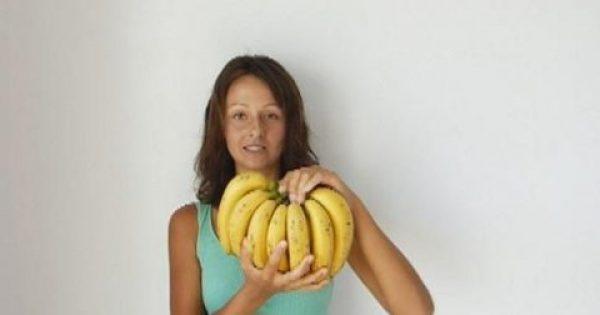Έτρωγε Μόνο Μπανάνες Για 12 Ημέρες. Δείτε Τα Αποτελέσματα Του Πειράματος!!!