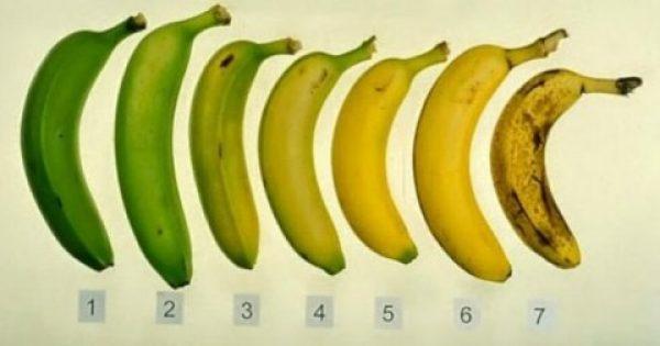 Ποια από τις μπανάνες που βλέπετε είναι η πιο υγιεινή επιλογή και γιατί;