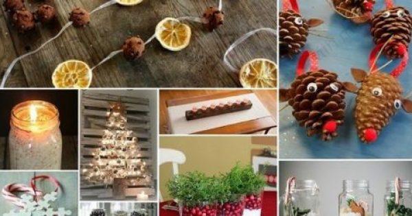 Φτιάξτε μόνες σας 15 εντυπωσιακά χριστουγεννιάτικα στολίδια