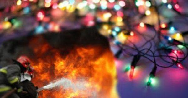ΠΡΟΣΟΧΗ με τα χριστουγεννιάτικα φωτάκια: Οδηγίες από την Πυροσβεστική για να μην πάρετε φωτιά…