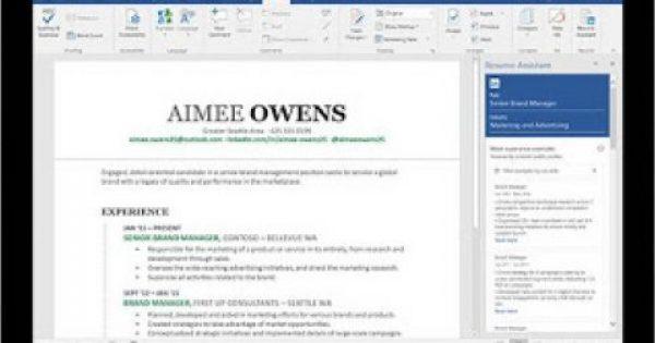 Microsoft Word: Νέα λειτουργία για να συντάξεις το βιογραφικό σημείωμά σου με τη βοήθεια του LinkedIn [video]