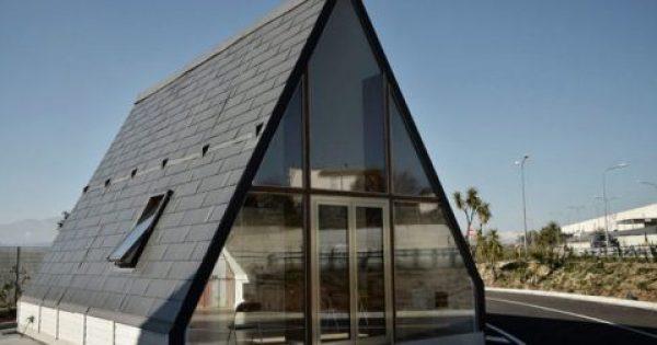 Αυτό το σπίτι χτίζεται σε 6 ώρες και κοστίζει μόλις 27.000 ευρώ