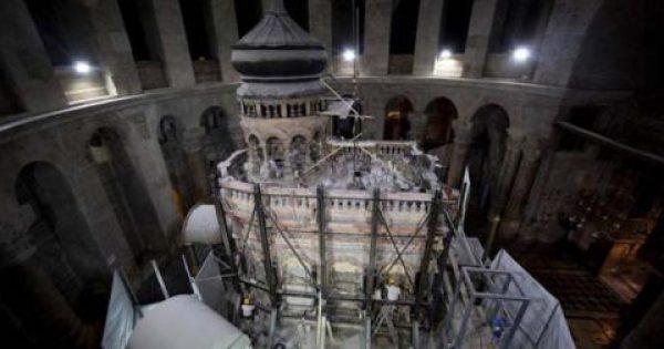 Έμεινε άφωνος ολόκληρος ο πλανήτης: Ανακάλυψη-σοκ στον Τάφο του Χριστού – Τι συγκλονιστικό βρήκαν