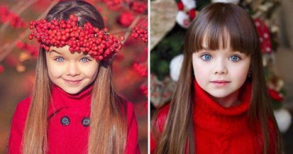 6χρονη από τη Ρωσία θεωρείται το πιο όμορφο κορίτσι στον κόσμο