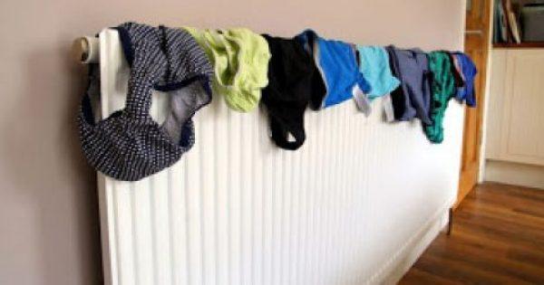 Οι κίνδυνοι του να στεγνώνετε ρούχα μέσα στο σπίτι!