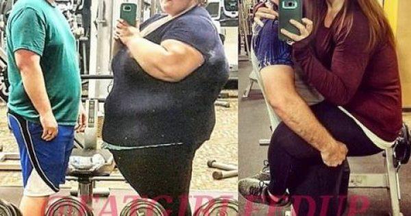 Ζευγάρι έχασε μαζί 181 κιλά βοηθώντας ο ένας τον άλλον και μεταμορφώθηκαν