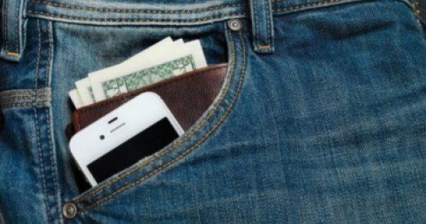 Ποτέ κινητό και πορτοφόλι στην τσέπη του παντελονιού – Δείτε γιατί
