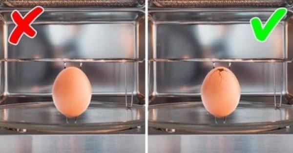 9 πράγματα που δεν πρέπει ποτέ να βάζετε στον φούρνο μικροκυμάτων