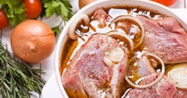 Θα εκπλαγείτε… Η καλύτερη μαρινάδα για όλα τα κρέατα!