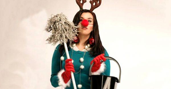 Ο Οδηγός της Τεμπέλας για Καθαριότητα Στις Γιορτές!