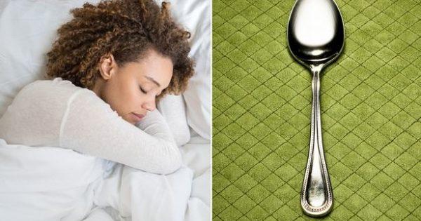 Τι να κάνετε με το… κουτάλι για να δείτε αν σας λείπει ύπνος! [vid]