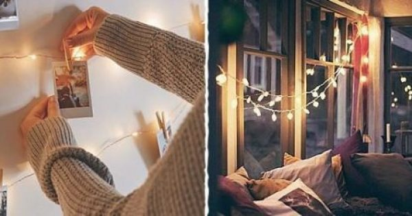 25 τέλειες ιδέες διακόσμησης με φωτάκια