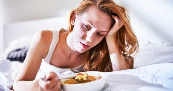 Κρυολόγημα: Γιατί μειώνεται η όρεξη, όταν αρρωσταίνουμε!!!