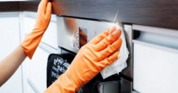 Πώς να εξαφανίσετε τις έντονες μυρωδιές από το φούρνο