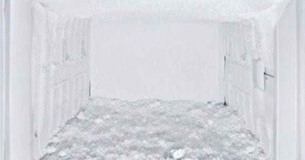 Δείτε πως θα καθαρίσετε τον πάγο από την κατάψυξη του ψυγείου σας σε χρόνο μηδέν!