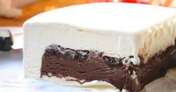 Γλυκιά ζωή! Συνταγή για δροσερή τούρτα παγωτό με μπισκότα