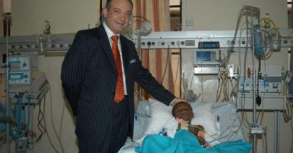 Αυξέντιος Καλαγκός: O καρδιοχειρουργός που σώζει χιλιάδες παιδιά συνεργάζεται με το Αγία Σοφία