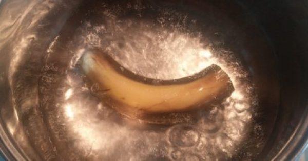 Βράστε μια Μπανάνα, Πιείτε το Νερό Πριν Κοιμηθείτε, και Δείτε Τι Συμβαίνει με τον Ύπνο σας!!!
