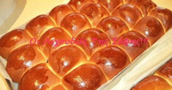 Φανταστικά μπριοσάκια με υφή τσουρεκιού!!! Ιδανικά για χάμπουργκερ και χοτ ντογκ