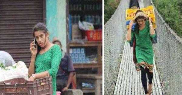18χρονη μανάβισσα «τρελαίνει» το διαδίκτυο με τα πανέμορφα χαρακτηριστικά της