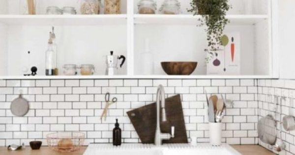 5+1 τρόποι να χωρέσεις τα πάντα στη μικρή κουζίνα και να δείχνει τακτοποιημένη
