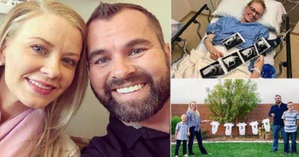 Ζευγάρι ενημερώθηκε από τους γιατρούς ότι δεν θα μπορέσει να ξανακάνει παιδί και η γυναίκα είναι έγκυος με πεντάδυμα