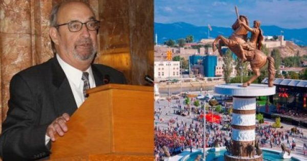 Αμερικανός καθηγητής Αρχαιολογίας προτείνει τα Σκόπια να ονομαστούν «Παιονία»