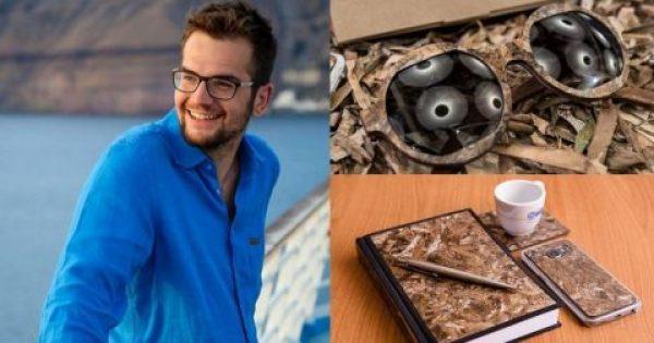 24χρονος Ελληνας φτιάχνει είδη πολυτελείας από φύκια και μπήκε στην λίστα Forbes