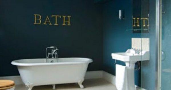4 Χρώματα που θα κάνουν το μπάνιο σας να ξεχωρίσει!