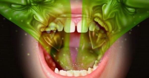 Κακοσμία του στόματος: Τι την προκαλεί και πώς θα απαλλαγείτε…