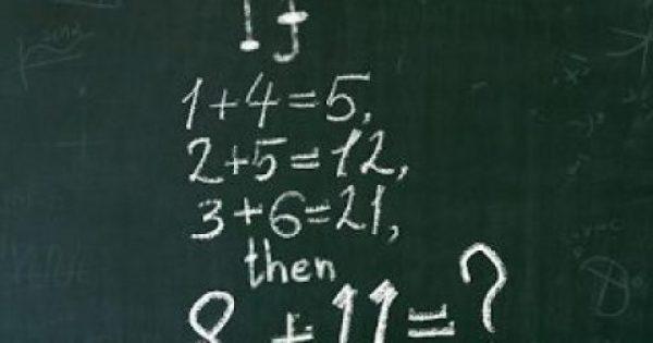 Μόνο ένας στους χίλιους ανθρώπους μπόρεσε να λύσει αυτόν τον μαθηματικό γρίφο. Εσύ τολμάς να προσπαθήσεις;