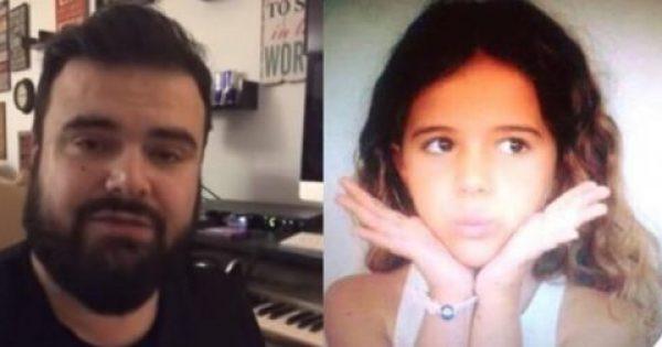 Ηλίας Καμπακάκης: Το συγκινητικό μήνυμα για την κόρη του που πάσχει από καρκίνο