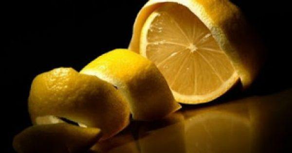 Μην πετάτε ποτέ τις φλούδες λεμονιού! Δείτε γιατί…
