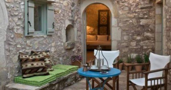 Σπίτι στην Κρήτη που κατασκευάστηκε πριν 200 χρόνια και είναι πανέμορφο
