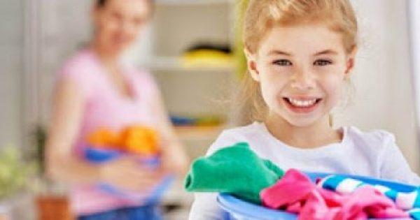 Σωστό πλύσιμο παιδικών ρούχων