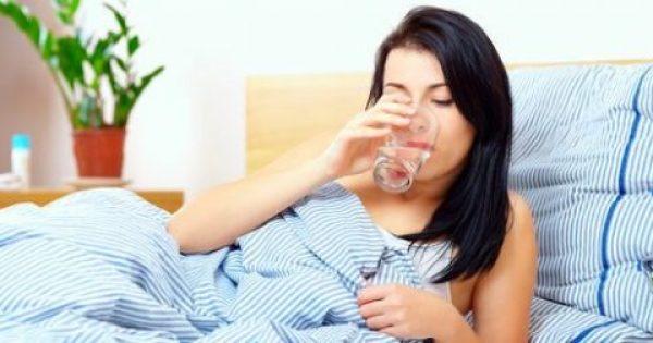 Γιατί πρέπει να πίνετε νερό αμέσως μόλις…