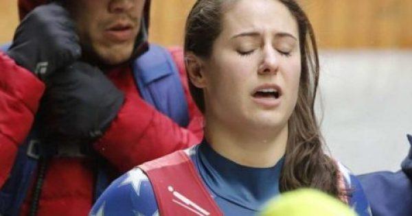 Ατύχημα-σοκ αθλήτριας στους Ολυμπιακούς Αγώνες που χτύπησε σε τοίχο