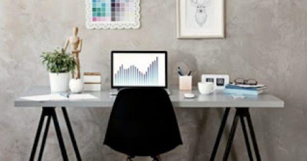 5 τρόποι για να οργανώσετε ένα γραφείο χωρίς συρτάρια